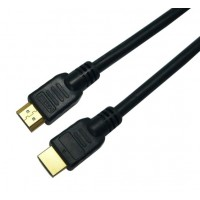 Elmak SAVIO CL-06 Kabel HDMI czarny złoty v1.4 3D, 4Kx2K, 3m
