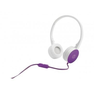 Orginalne Słuchawki z mikrofonem HP Stereo Headset H2800 Purple