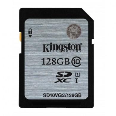 Kingston SDXC 128GB UHSI 45|10MB|s Gen 2