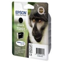 Epson oryginalny ink blistr z ochroną, C13T08914021, black, 5,8ml, Epson Stylus S20, SX100, SX200, SX400