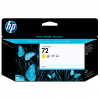 HP oryginalny ink C9373A, No.72, yellow, 130ml, HP Designjet T1100, T770