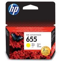 HP oryginalny ink CZ112AE#BHK, No.655, yellow, 600s, HP Deskjet Ink Advantage 3525, 5525, 6525, 4615 eAiO