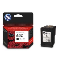 HP oryginalny ink F6V25AE, No.652, black, 360s, HP Deskjet IA 4535, 4675, 1115, 2135, 3635, 3835