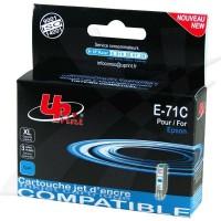 UPrint kompatybilny ink z C13T07124011, cyan, 10ml, E71C, dla Epson D78, DX4000, DX4050, DX5000, DX5050, DX6000, DX605