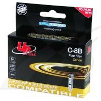 UPrint kompatybilny ink z CLI8BK, black, 14ml, C8B, dla Canon iP4200, iP5200, iP5200R, MP500, MP800, z chipem