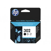 HP Inc. Tusz nr 302 Black F6U66AE