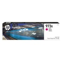 HP oryginalny ink F6T82AE, No.973X, magenta, 7000s, 82ml, HP PageWide Pro 452, Pro 477