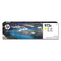 HP oryginalny ink F6T83AE, No.973X, yellow, 7000s, 82ml, HP PageWide Pro 452, Pro 477