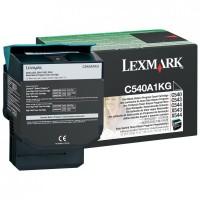 Lexmark oryginalny toner C540A1KG, black, 1000s, Lexmark C540, X543, X544, X543, X544
