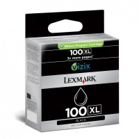 Lexmark oryginalny ink 14N1068E, #100XL, black, return, 600s, Lexmark S305, 405, 505, 605, PRO205, 705, 805, 905