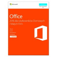 Microsoft Office 2016 Home & Business PL Win 32bit|x64 P2  T5D02786. Stare SKU T5D02439