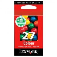 Lexmark oryginalny ink 10NX227E, #27+, color, 160s, Lexmark Z13, Z23, Z33, Z25, Z35