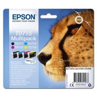 Epson oryginalny ink C13T07154012, CMYK, 23.9ml, Epson D78, DX4000, DX4050, DX5000, DX5050, DX6000, DX605