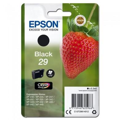 Epson oryginalny ink C13T29814012, T29, black, 5,3ml, Epson Expression Home XP235,XP332,XP335,XP432,XP435