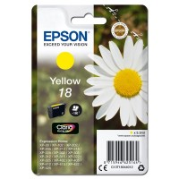 Epson oryginalny ink C13T18044012, T180440, yellow, 3,3ml, Epson Expression Home XP102, XP402, XP405, XP302