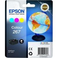 Epson Tusz T267 CMY 6.7ml  do WF100W          200 str.