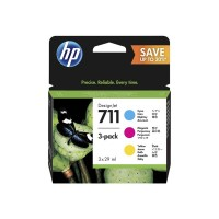 HP Atrament 711 28ml 3pk CMY