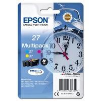 Epson oryginalny ink 13T27054012, 27, color, 3x3,6ml, Epson WF3620, 3640, 7110, 7610, 7620