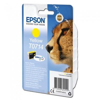 Epson oryginalny ink C13T07144012, yellow, 405s, 5,5ml, Epson D78, DX4000, DX4050, DX5000, DX5050, DX6000, DX605
