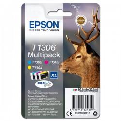 Epson oryginalny ink C13T13064012, T1306, cyan|magenta|yellow, 30,3ml, Epson Stylus Office BX320FW