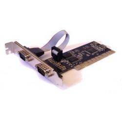 Unitek Kontroler PCI  2x RS232 , Y7503