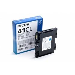 Ricoh żel cyan 600k GC41CL 405766