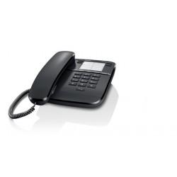 Siemens Gigaset Telefon DA310 CZARNY przewodowy