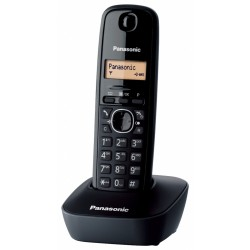 Panasonic KXTG1611 Dect|Black