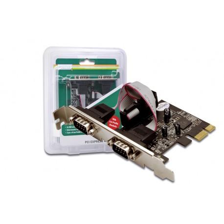 Digitus Kontroler PCI Express 2xserial DB9 COM RS232