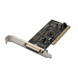 Digitus Kontroler PCI Karta Multi I|O 2xszeregowy (serial) DB9, 1xrównioległy (parallel) DB25 LPT