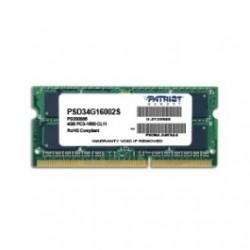 Patriot SODIMM DDR3 4GB Signature 1600MHz CL11