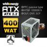 Whitenergy Zasilacz ATX 2.2 400W 120mm PFC BOX + kabel zasilający