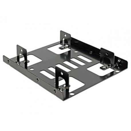 Delock Adapter HDD sanki szyna 3,5 na 2x2,5