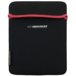 Esperanza ETUI NA TABLET 10 CALI BLACK|RED