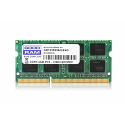 GOODRAM SODIMM DDR3 4GB|1333 CL9 512*8 Single Rank