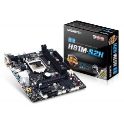 Gigabyte GAH81MS2H s1150 H81 2DDR3 USB3 GLAN uATX