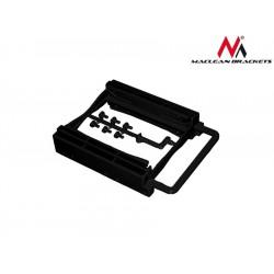 Maclean Adapter redukcja HDD|SSD sanki szyna 3,5 na 2,5 na 2 dyski Maclean MC653 kolor czarny