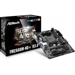 ASRock FM2A88MHD+ R3.0 FM2 A88X 2DDR3 USB3|RAID