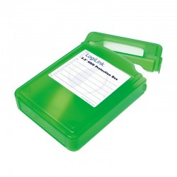 LogiLink Pudełko ochronne do HDD 3.5, zielone