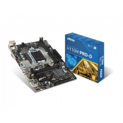 MSI H110M PROD s1151 H110 2DDR4 USB3 uATX