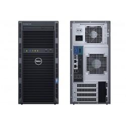 Dell SERWER T130 E31220v5 8GB 2x1TB H330 DVDRW 3Y