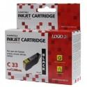 Logo kompatybilny ink z CLI8BK, black, 14ml, dla Canon iP4200, iP5200, iP5200R, MP500, MP800, z chipem