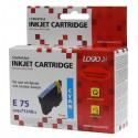 Logo kompatybilny ink z C13T07124011, cyan, 12ml, dla Epson D78, DX4000, DX4050, DX5000, DX5050, DX6000, DX605