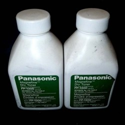 Panasonic oryginalny toner FQT10C, black, Panasonic FP1300, 1500, 1520, 2500, 2520, 2526, 2600, 100g