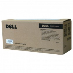 Dell oryginalny toner 59310335, black, 6000s, PK941, return, Dell 2330d, 2330dn, 2350, 2350dn