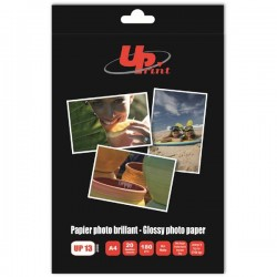 UPrint Mate photopaper, foto papier, matowy, biały, A4, 180 g|m2, 20 szt., atrament