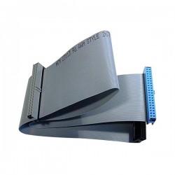 Kabel do dysku twardego datový ATA 100, 0.7m, 40 żył, ATA100,, szary, Logo
