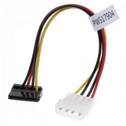 """Kabel do dysku twardego napájecí, DC SATA M DC 5,25"""" M, 0.2m, łamany, color"""