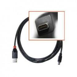 Kabel USB (2.0), USB A  M 8 pin M, 1.8m, czarny, SAMSUNG