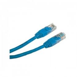 UTP patchcord UTP patchcord, Cat.5e, RJ45 M0.5m, nieekranowany, niebieski, economy
